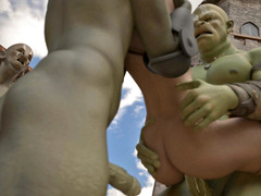 picture #6 ::: Horny ogres decide to rape a lovely girl