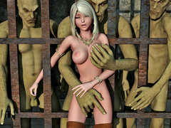 picture #6 ::: Best monster blowjob galleries with slave girls