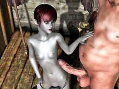 picture #4 ::: Slutty elven girls like kinky sex
