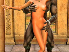 picture #1 ::: Hot elf fucked senseless by a horny werewolf