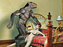 picture #12 ::: Hot elf fucked senseless by a horny werewolf