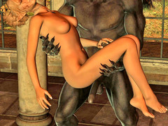 picture #8 ::: Hot elf fucked senseless by a horny werewolf