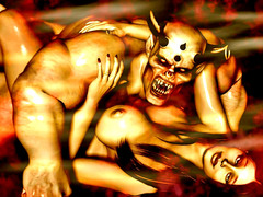 picture #1 ::: Fearsome demons use hot girls for breeding