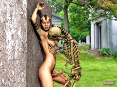 picture #3 ::: Fearsome demons use hot girls for breeding