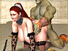 picture #5 ::: Fearsome demons use hot girls for breeding