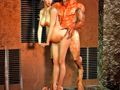 picture #6 ::: Fearsome demons use hot girls for breeding