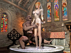 picture #2 ::: 3d monster sex with amazing hot babes