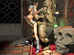 picture #3 ::: 3d monster sex with amazing hot babes