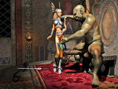 picture #5 ::: 3d monster sex with amazing hot babes