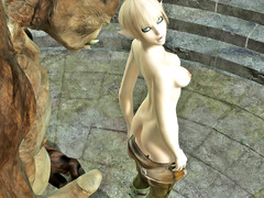 picture #4 ::: Sexy babes fucked and creamed by demons