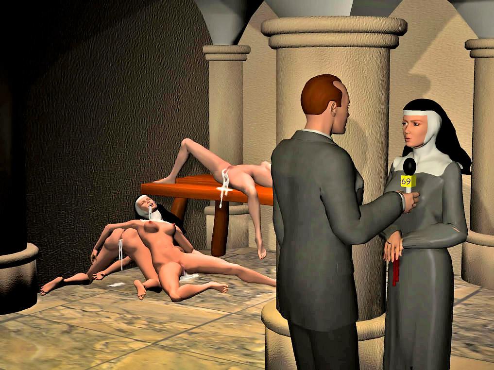 Nun rape porn