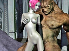 picture #1 ::: Naughty elven sex and blowjobs that will blow your mind
