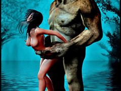 picture #4 ::: Alien enjoy sweet pussy of young girl