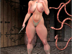 picture #4 ::: Hot girls used for breeding by ugly monsters