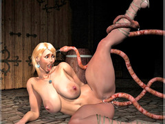 picture #5 ::: Hot girls used for breeding by ugly monsters