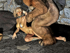 picture #5 ::: Horny devil seduces and fucks an angel girl