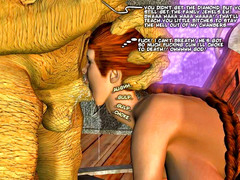 picture #4 ::: 3d minotaur sex with wet blonde