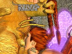 picture #5 ::: 3d minotaur sex with wet blonde