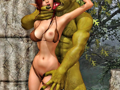 picture #5 ::: 3d monster sex galleries of hardcore fuck with young cuties
