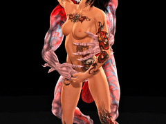 picture #3 ::: Crazy incest toons with more babes totally nude for you