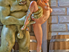 picture #4 ::: Crazy incest toons with more babes totally nude for you