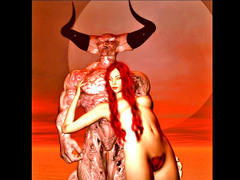 picture #1 :::  Demonic sex of cute bitches and their hell fuckers
