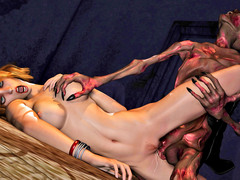 picture #2 ::: Horny demon loves human pussy the best