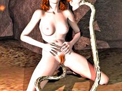 picture #6 ::: Dark demon possesses and fucks two hotties