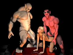 picture #3 ::: We gathered all porn toons sexy ladies and monsters to fuck