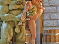 picture #6 ::: Cock craving medusa fucks a nerdy guy