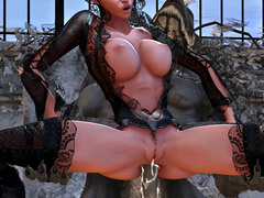 picture #1 ::: Hot collection of 3d monster porn with dark elves