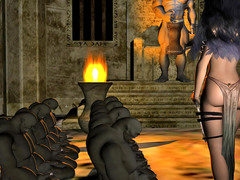 picture #4 ::: Hot collection of 3d monster porn with dark elves