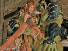 picture #3 ::: Alien hentai and monster fuck for pretty ladies