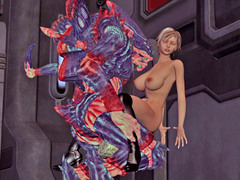 picture #2 ::: Monster porn gallery with enormous creatures doing hot chicks