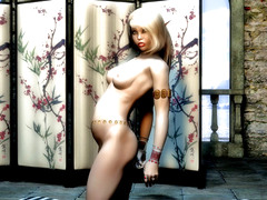 picture #3 ::: Hot 3d babes from the fantasy realm showing their firm bodies