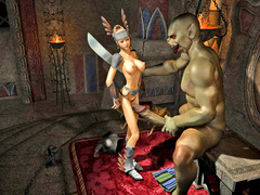 picture #3 ::: Warrior princess banged by her worst enemy