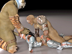 picture #8 ::: Hot animated babes were in wild sex orgy with mistress