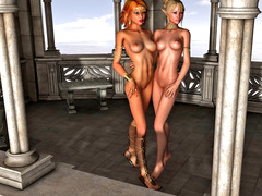 picture #8 ::: Insatiable queen gets herself a new sex slave