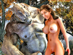 picture #1 ::: Hot girl eaten out and drilled by tentacle monster