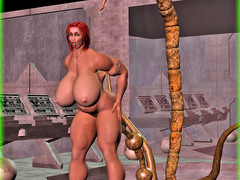 picture #2 ::: Kinky monsters use human girls for breeding