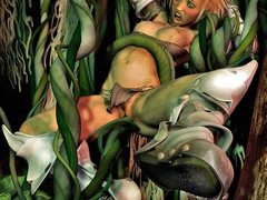 picture #2 ::: 3d porn where girls were fucked by plants, tentacles, monsters