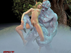 picture #6 ::: 3d porn where girls were fucked by plants, tentacles, monsters