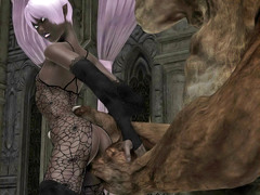 picture #1 ::: Fantasy sex collection with hotties captured by monsters