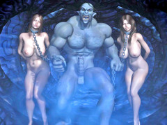 picture #2 ::: Fantasy sex collection with hotties captured by monsters