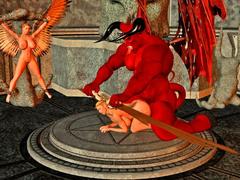 picture #5 ::: Hellish monsters enjoying kinky sex