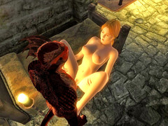 picture #5 ::: Lizardman fucking a horny girl from behind