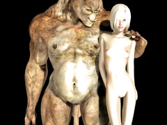 picture #6 ::: Petite elf gangbanged by horny minotaurs