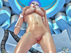 picture #2 ::: Curious babes let a bunch of aliens gangbang them