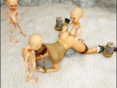 picture #2 ::: Tiny goblins with huge cocks gangbanging a hottie