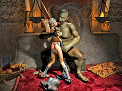 picture #1 ::: Warrior princess turn into her enemy's sex slave